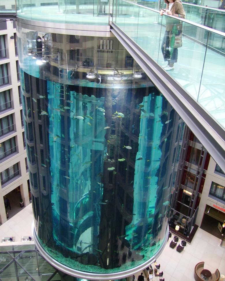 6. Aquadom Radisson Blu Hotel