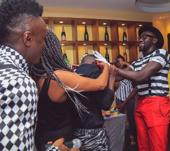 Check Out Epic Photos From Sauti Sol S Chimano S Birthday