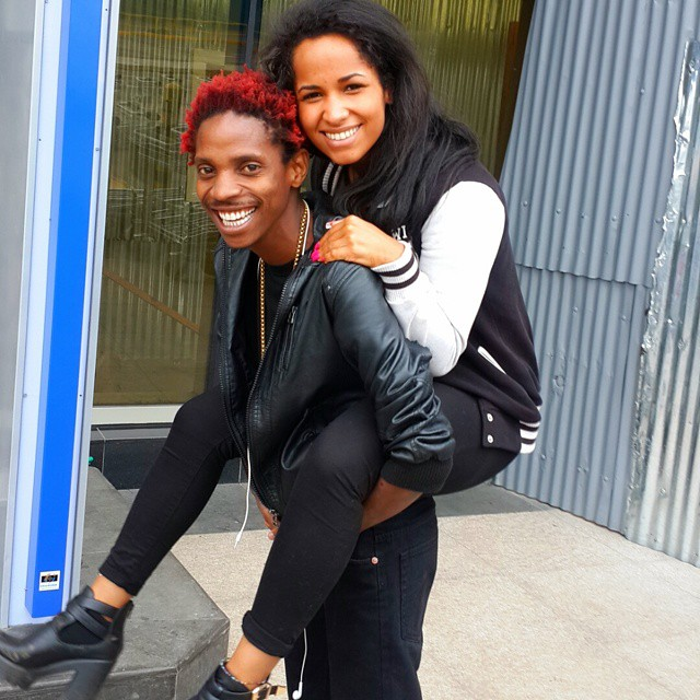 throwback photo of eric omondis girlfriend when she was