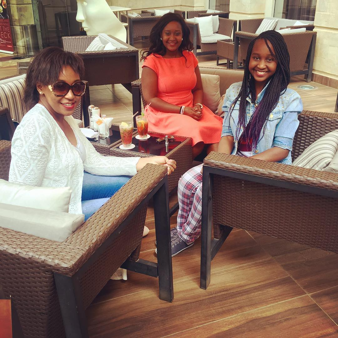 Someone Bought Her A Car After She Type: Photo Evidence That Betty Kyalo And Her Sisters Look