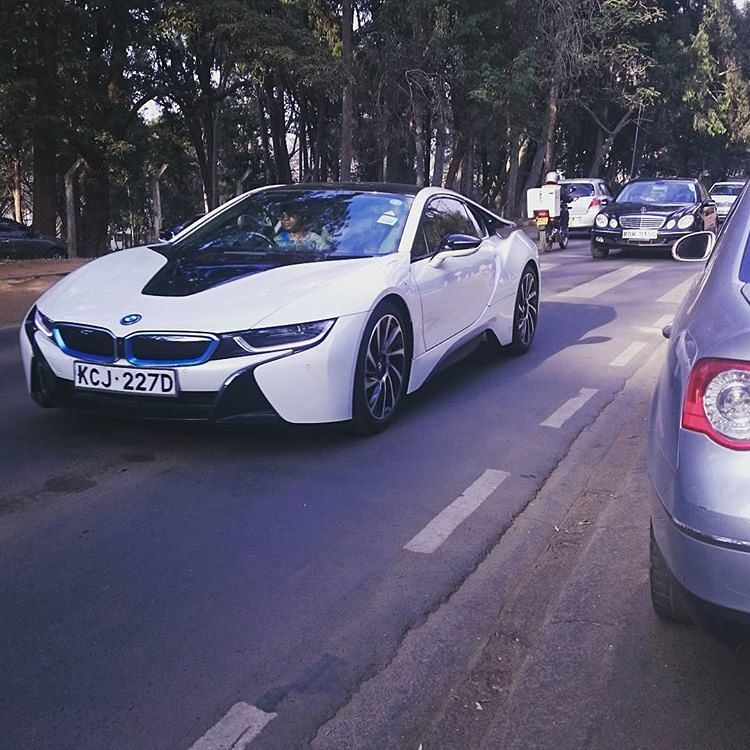 Photo The One And Only Bmw I8 In Kenya Is Now On The Roads Of
