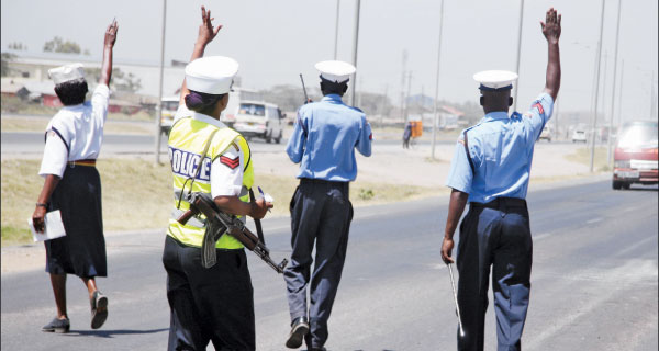 Image result for traffic police kenya""