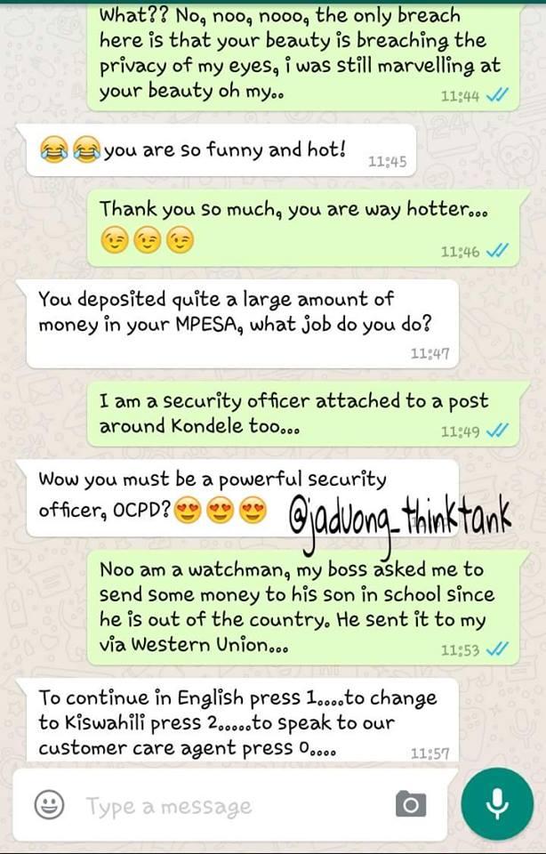 Whatsapp Flirt