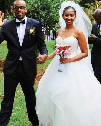 check out photos from sarah hassans glamorous wedding