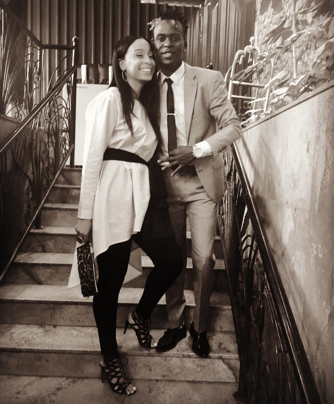 9 Times Willy Paul and Alaine Engaged In Public Display Of ...