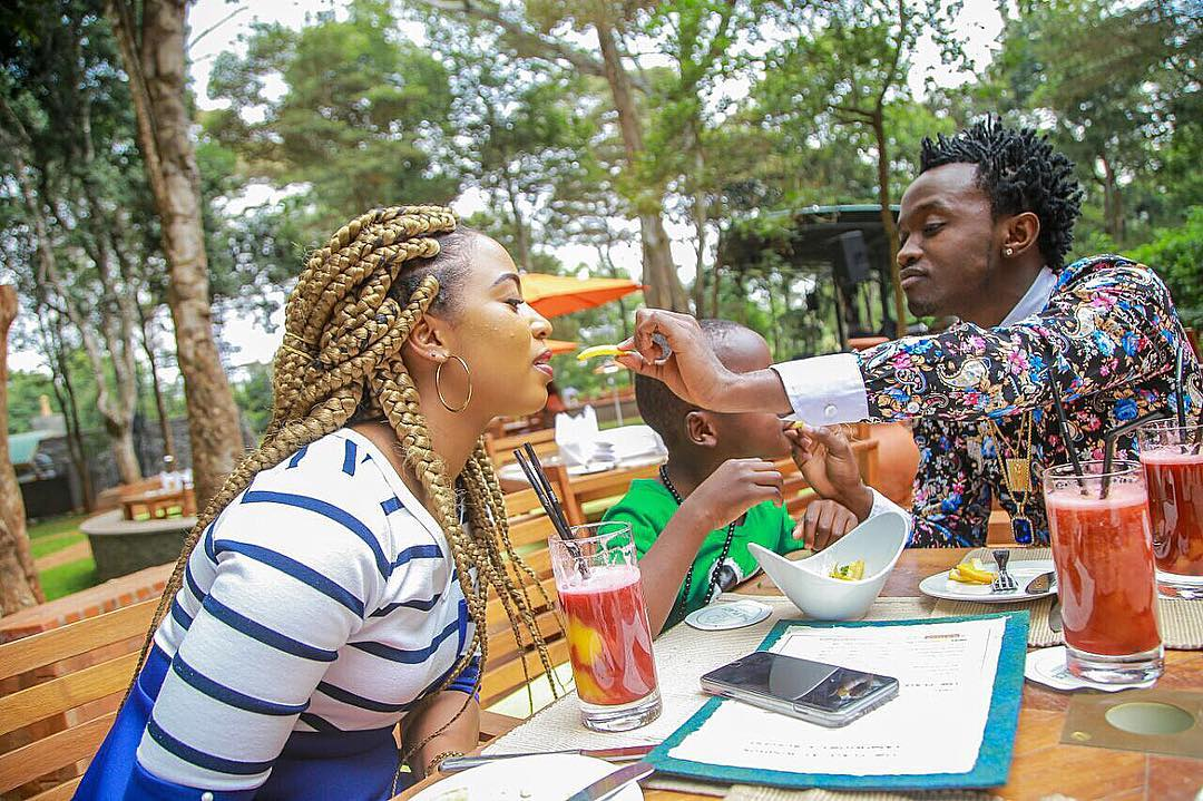 Bahati S Girlfriend Shows Off Her New Sleek Bmw Convertible Naibuzz