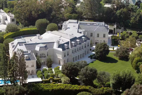 Beyonce jay z get largest house in california worth for Biggest house in california