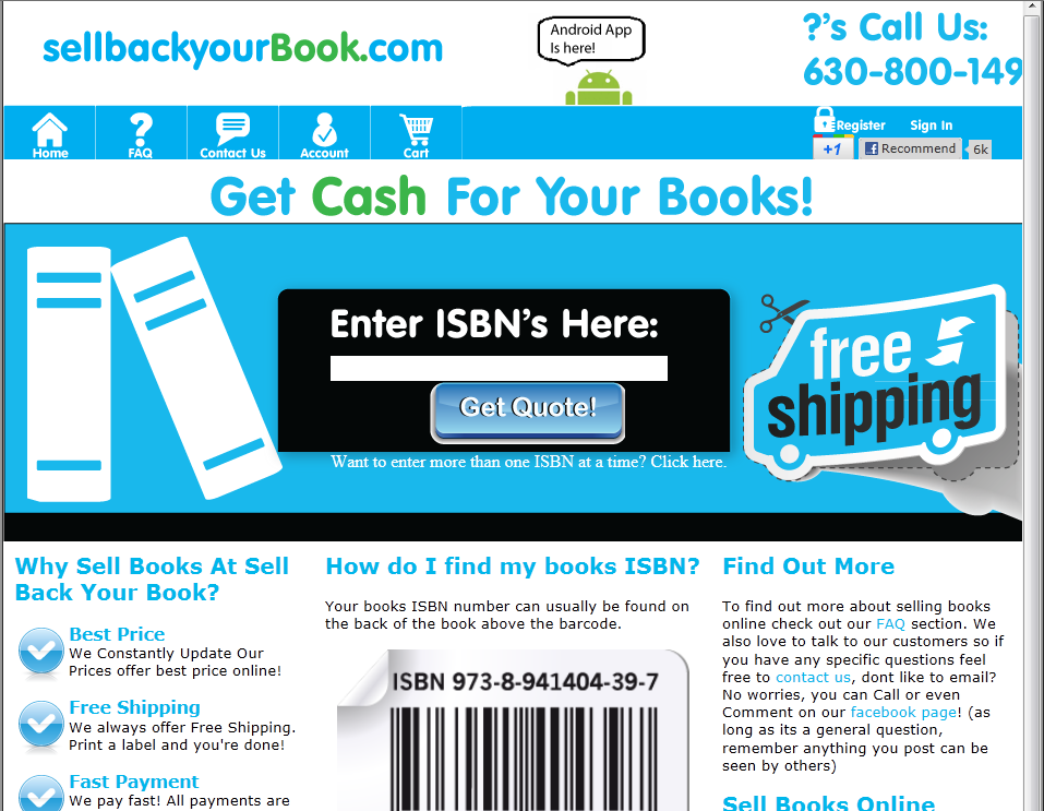 10 best sites to sell used textbooks online for cash for Top 10 online selling sites