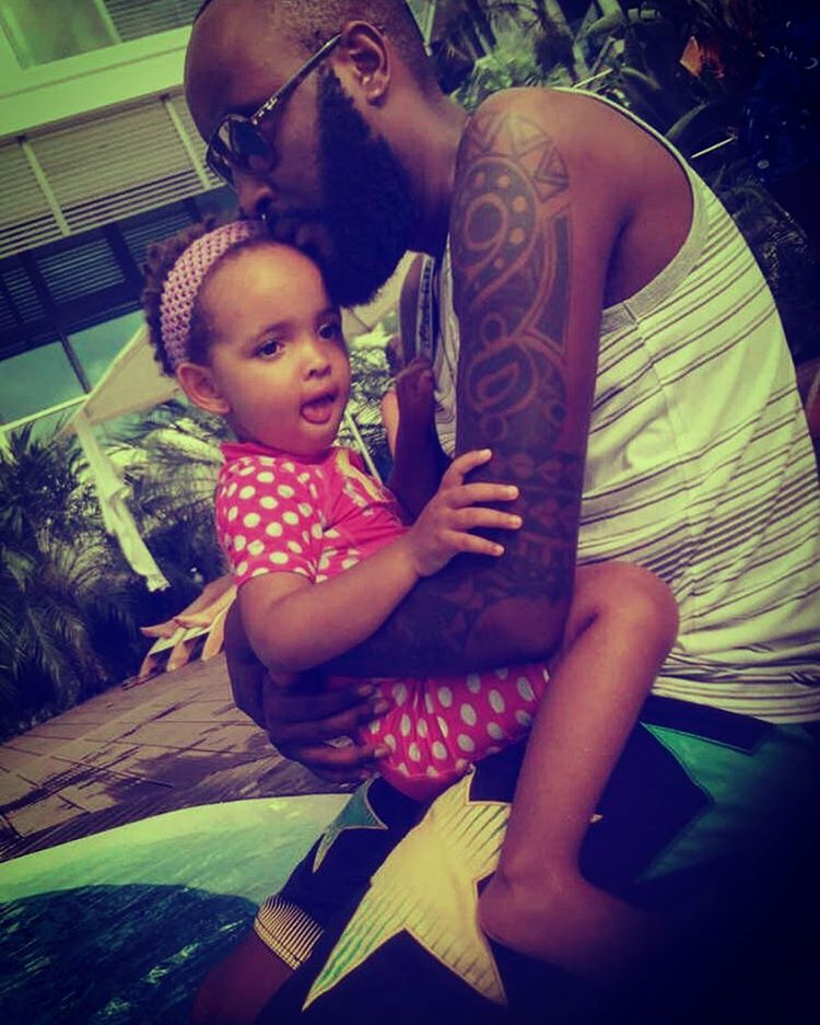 Most Adorable Photo Of Shaffie Weru And His Daughter - Naibuzz
