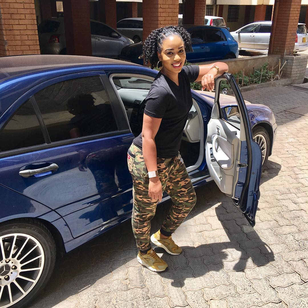 Bahati S Girlfriend Shows Off Her New Sleek Bmw