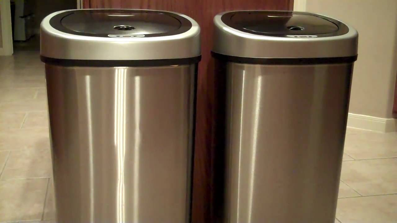 Captivating 4 Of The Best Touchless Trash Cans For Your Kitchen Part 22