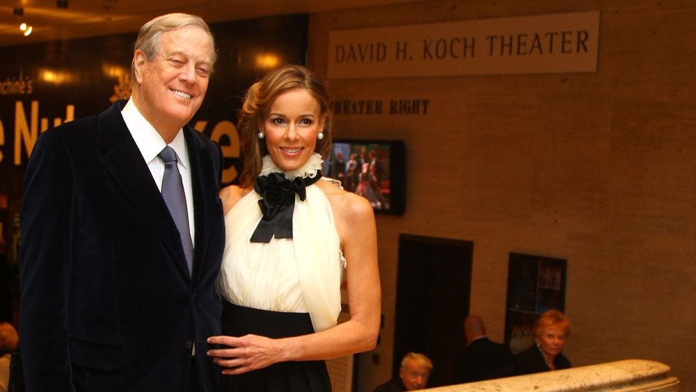 15 hottest wives with their filthy rich billionaire for Charles und david koch