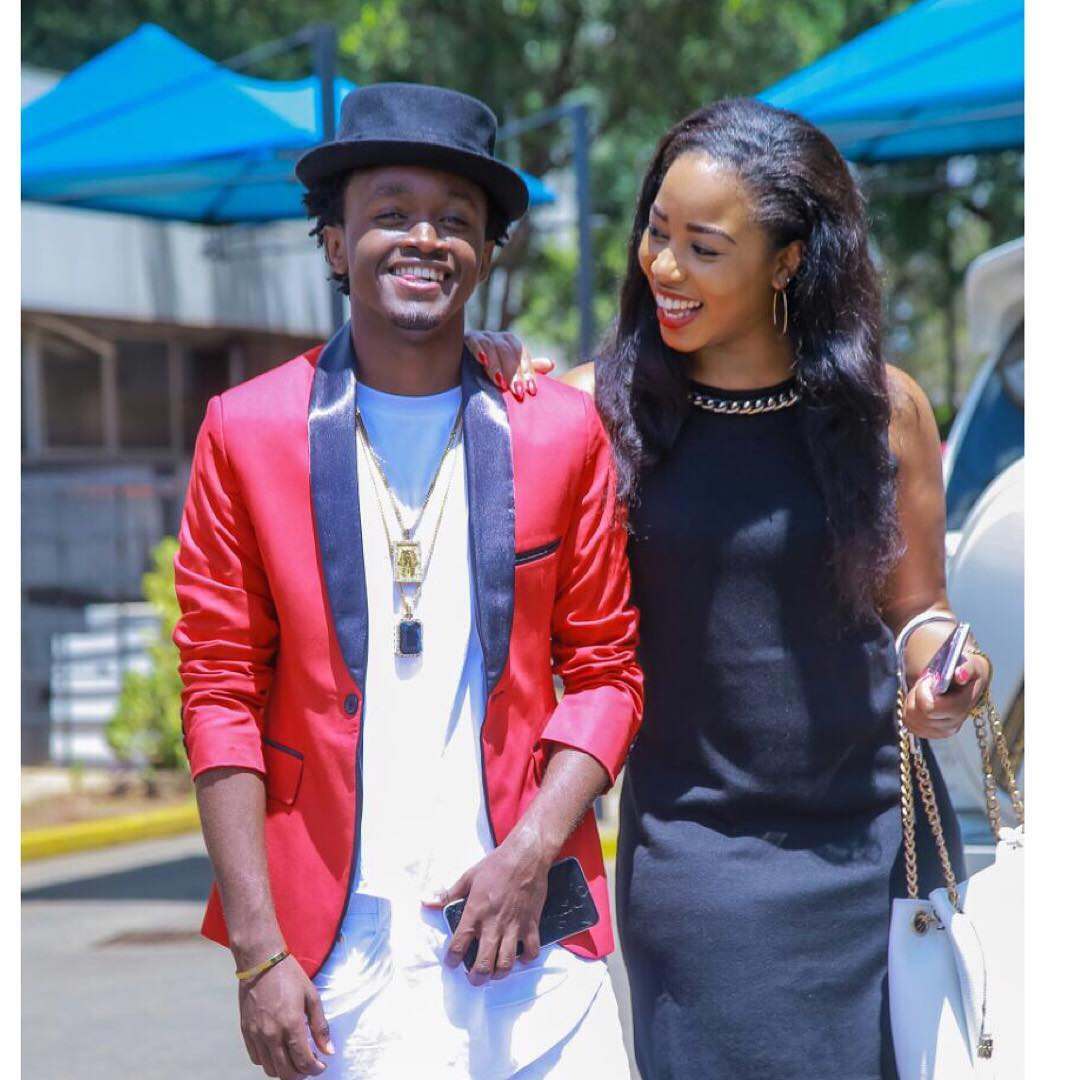 Details On Exactly How Bahati & Diana Marua Met and Fell In