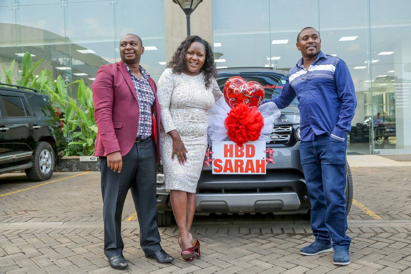 Bonfire Adventures Owner Gifts Wife New Range Rover In A