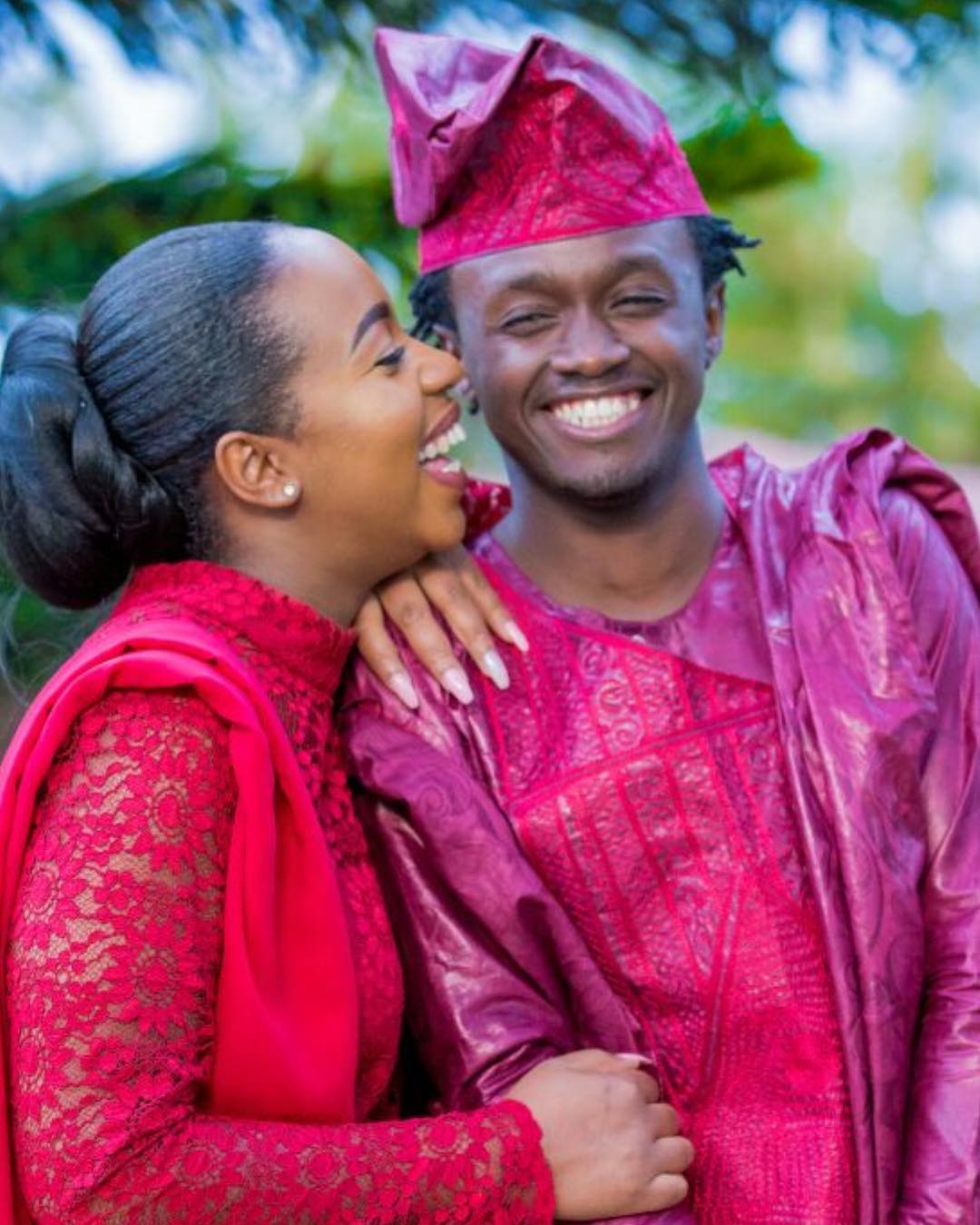 It's Official! Bahati and Diana Marua Now Officially Married