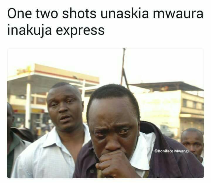 Guy Storytelling Using Uhuru Kenyatta Memes Is The Most