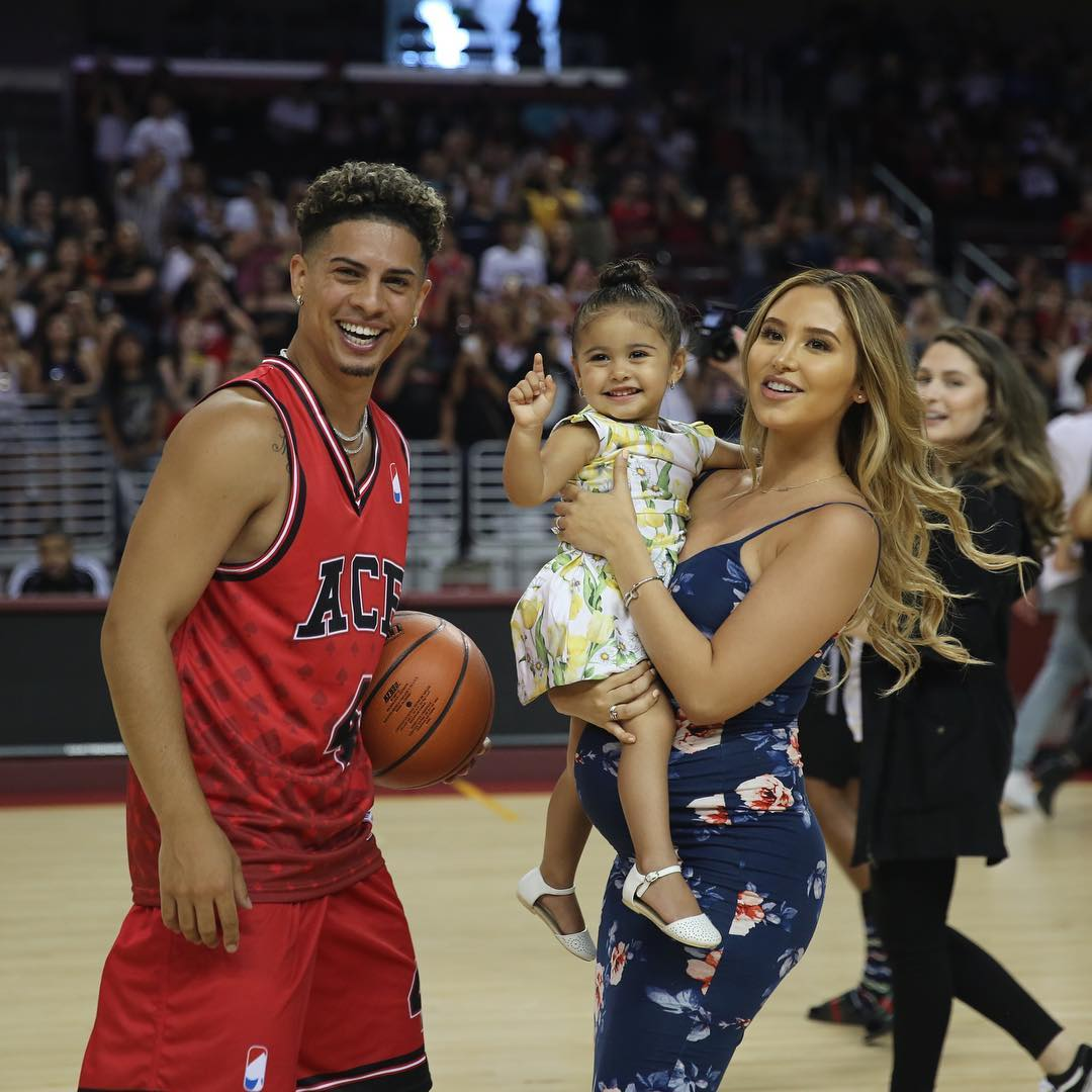 When did catherine piaz and austin mcbroom start dating