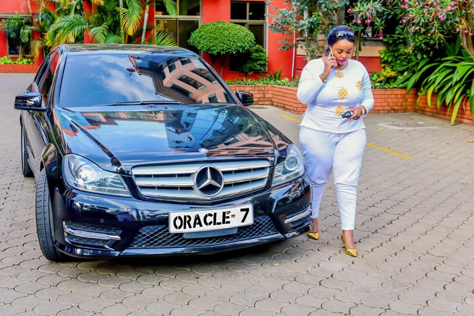 "Who Owns Range Rover >> Rev Lucy Natasha Shows Off Her New Expensive Mercedes Benz She Calls ""Oracle 7"" - Naibuzz"