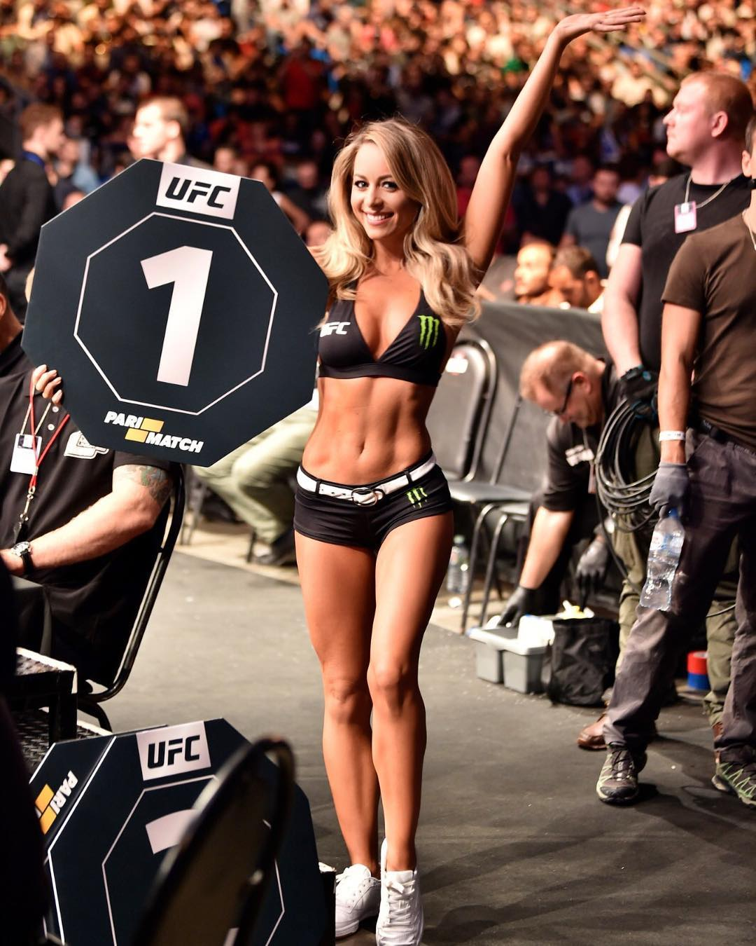 UFC Ring Card Girl Of The Year 2019