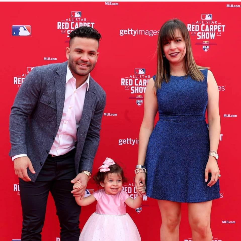 Nina Altuve and Jose Altuve's Daughter